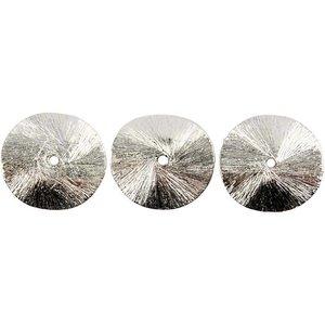 Schmuck Gestalten / Jewellery art 3 Exclusive disque arqué, taille 10x10x1 mm