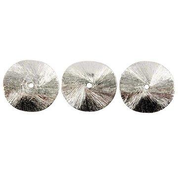 Schmuck Gestalten / Jewellery art 3 Exclusive Arched disc, size 10x10x1 mm