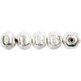 Schmuck Gestalten / Jewellery art 5 Exclusive pearl, nut, D: 10 mm