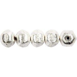Schmuck Gestalten / Jewellery art 5 Exclusieve parel, noot, D: 10 mm