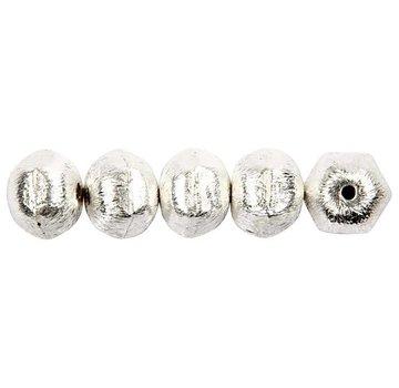 Schmuck Gestalten / Jewellery art 5 Exklusive Perle, Nuss, D: 10 mm