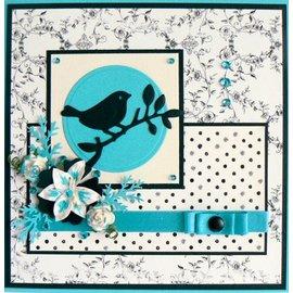 Marianne Design Poinçonnage et gaufrage modèle: Oiseau sur une branche