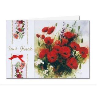 BASTELSETS / CRAFT KITS Flores de primavera en papel transparente: Bastelset