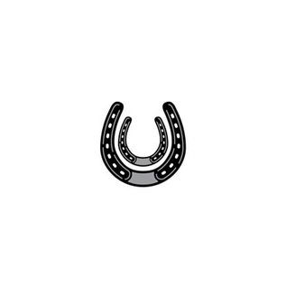 Marianne Design Ponsen en embossing sjabloon: Horseshoe