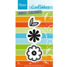 Marianne Design Stamping and embossing stencil: Flower set: Sweet