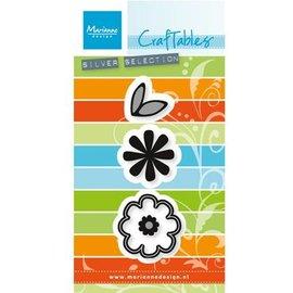 Marianne Design Estampación y embutición de la plantilla: Conjunto de la flor: Sweet