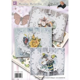 BASTELSETS / CRAFT KITS Complete kit: Paradise Butterfly 01