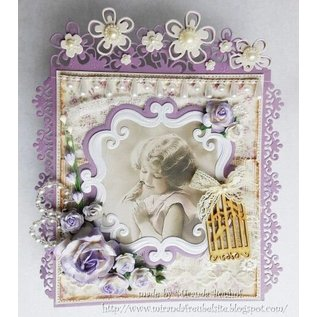 Joy!Crafts / Jeanine´s Art, Hobby Solutions Dies /  Ponsen en embossing sjabloon: Decoratief sierframe