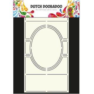 Schablonen, für verschiedene Techniken / Templates Schablone: Card Art Swing card