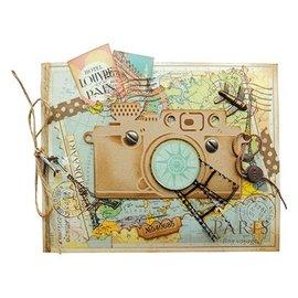 Marianne Design Stempelen en embossing folder, camera