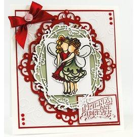 Tonic Fairy stamp + plantillas de perforación