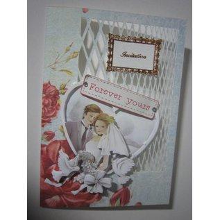 Bilder, 3D Bilder und ausgestanzte Teile usw... Hintergrundbogen+Stanzbogen, Thema: Hochzeit, Verlobung