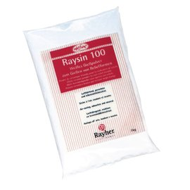 Modellieren Casting powder Raysin 100, white, bag 1 kg