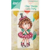 Joy!Crafts / Jeanine´s Art, Hobby Solutions Dies /  Transparent Stempel, Let´s Party