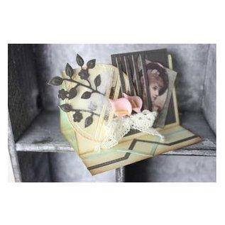 Joy!Crafts / Jeanine´s Art, Hobby Solutions Dies /  Ponsen en embossing sjabloon: Mery Het frame
