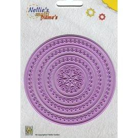 Nellie Snellen Punzonatura e goffratura modello: telaio Multi intorno