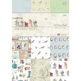 Docrafts / Papermania / Urban A4 Designer Block, Home to Nest, 160 gsm