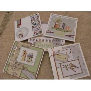 Docrafts / Papermania / Urban A4 Designerblock, Home to Nest, 160 gsm