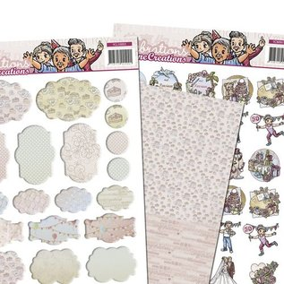 Yvonne Creations 3D SET, party and celebration with Minis & Labels