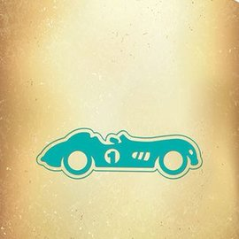 Nellie Snellen Stansning og prægning skabelon: Vintage bil