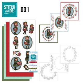 Komplett Sets / Kits Bastelset voor het ontwerpen van 3 kaarten!