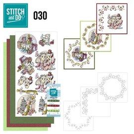 Komplett Sets / Kits Complet Bastelset for at designe 3 kort!