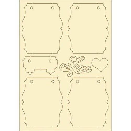 Pronty Softkarton, 7er Set vintage