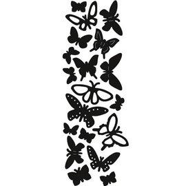Marianne Design Troquelado y estampado en relieve plantilla: Mariposas