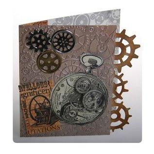 Docrafts / Papermania / Urban Rubber zegel, kwestie: Chronologie