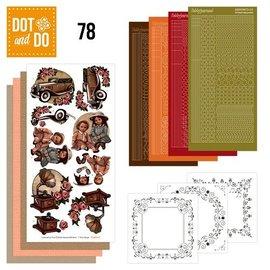 Komplett Sets / Kits Complete Bastelset: Dot and Th 78, Vintage