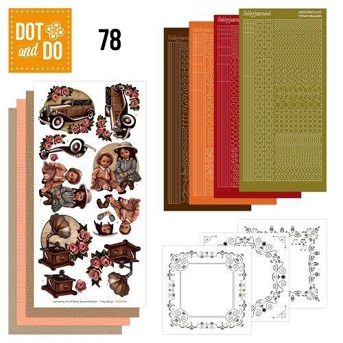 Komplett Sets / Kits Komplettes Bastelset: Dot and Do 78, Vintage