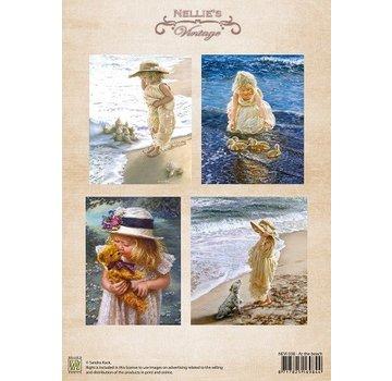 Nellie Snellen A4, nostalgisk Bilderbogen