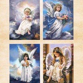 Nellie Snellen A4, Bilderbogen Vintage, ángeles dulces