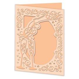 Docrafts / X-Cut Troquelado y estampado en relieve plantilla: