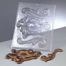 GIESSFORM / MOLDS ACCESOIRES Relief Vorm: Ornaments