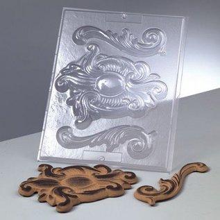 Modellieren Relief Vorm: Ornaments