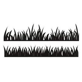 Marianne Design Estampación y embutición de la plantilla, hierba