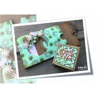 Joy!Crafts / Jeanine´s Art, Hobby Solutions Dies /  Ponsen en embossing sjabloon, Basic Mery rond