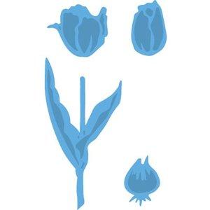 Marianne Design Ponsen en embossing sjabloon, tulp