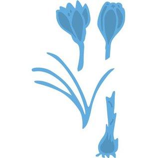 Marianne Design Stempelen en embossing stencil, Crocus