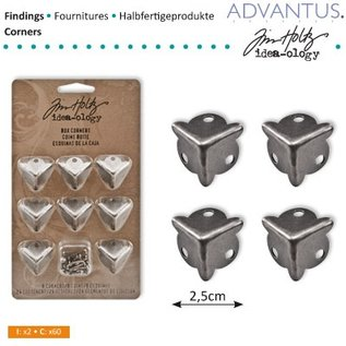 Embellishments / Verzierungen 8 piedi Ancient Box Eck + viti