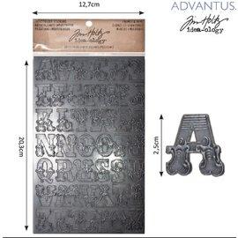 Embellishments / Verzierungen Advantus Tim Holtz flittig sticker breve