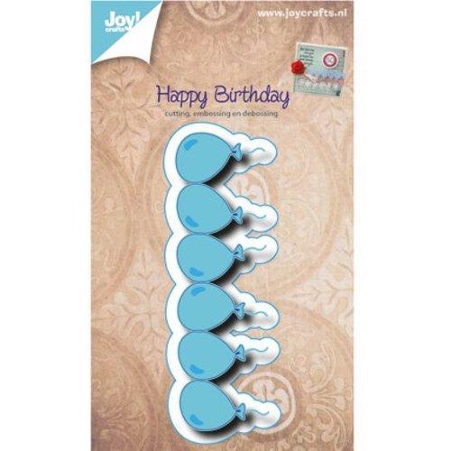 Joy!Crafts / Jeanine´s Art, Hobby Solutions Dies /  Stanz- und Prägeschablone, Bordüre mit Ballone