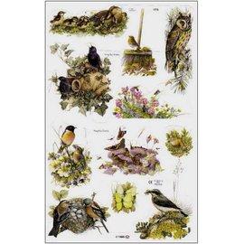 Bilder, 3D Bilder und ausgestanzte Teile usw... Bilderbogen, Glanzbilder, Thema: Frühling