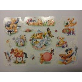 Bilder, 3D Bilder und ausgestanzte Teile usw... Billedark, klip, tema: søde bjørne