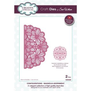 CREATIVE EXPRESSIONS und COUTURE CREATIONS Ponsen en embossing sjabloon: The Collection configuraties