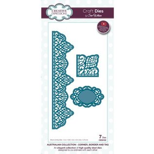 CREATIVE EXPRESSIONS und COUTURE CREATIONS Stamping and pre-template: The Australian Collection