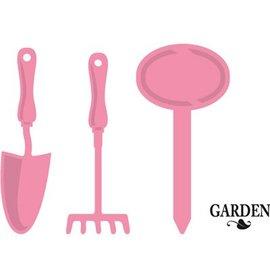 Marianne Design Poinçonnage et gaufrage modèle: outil de jardin