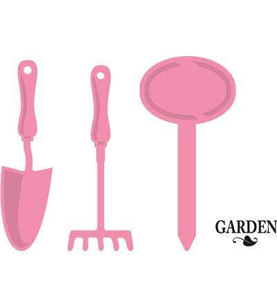 Poinçonnage et gaufrage modèle: outil de jardin