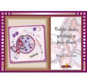 Bücher, Zeitschriften und CD / Magazines Bastelbuch Theme: Butterflies with Stickvorlage
